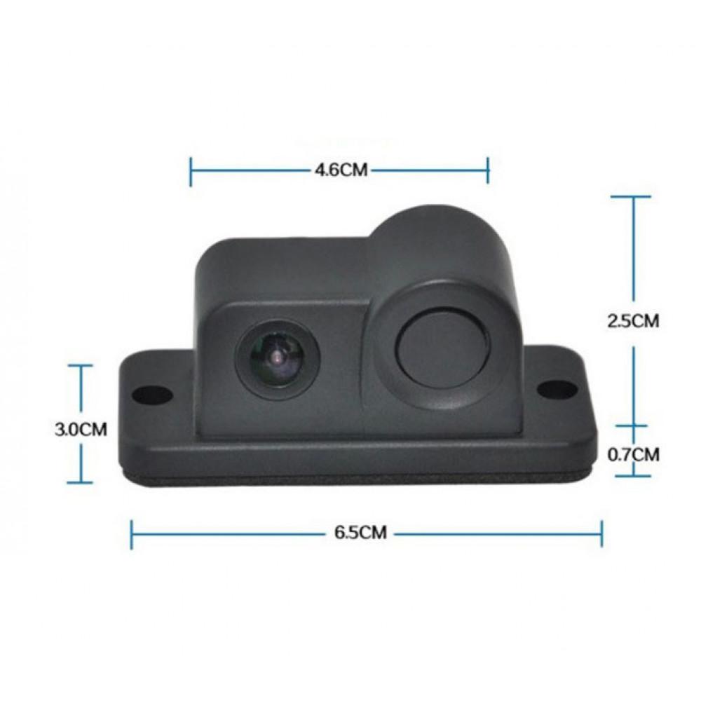 Камера заднего вида с парктроником 01R