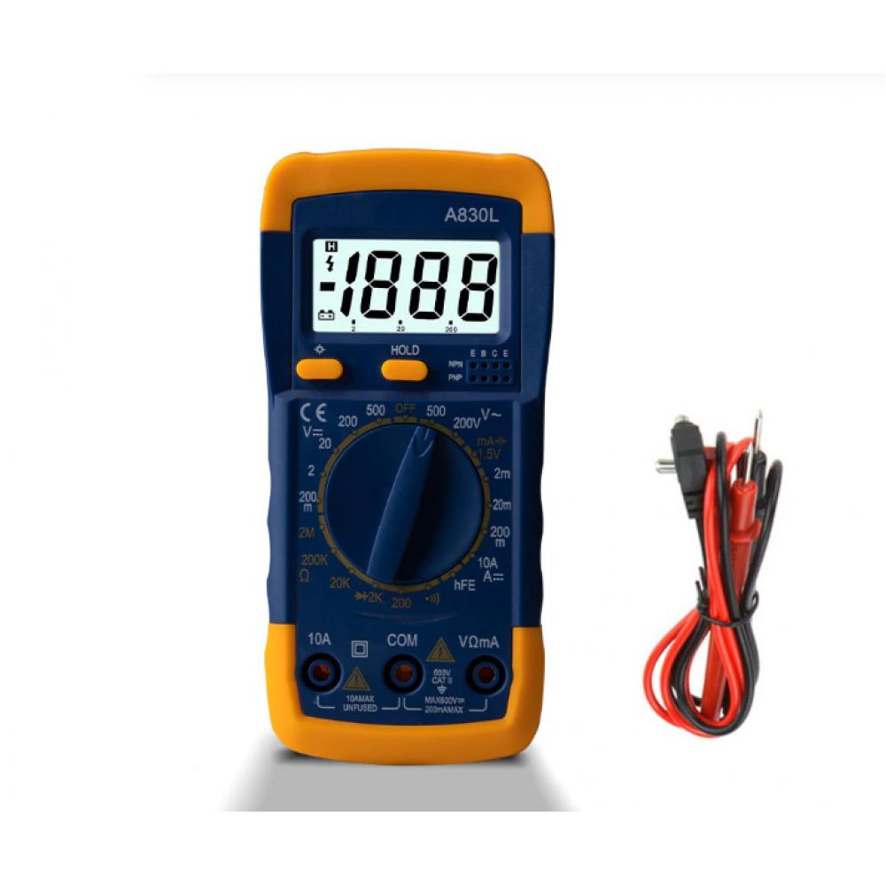 Мультиметр универсальный A830L