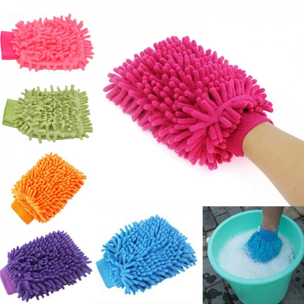 Салфетка перчатка для пыли