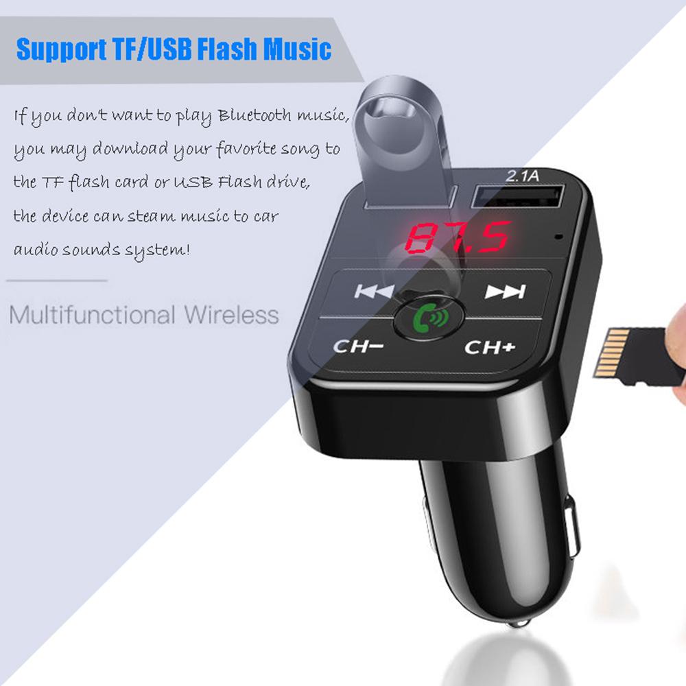 FM модулятор 2xUSB и Card Reader