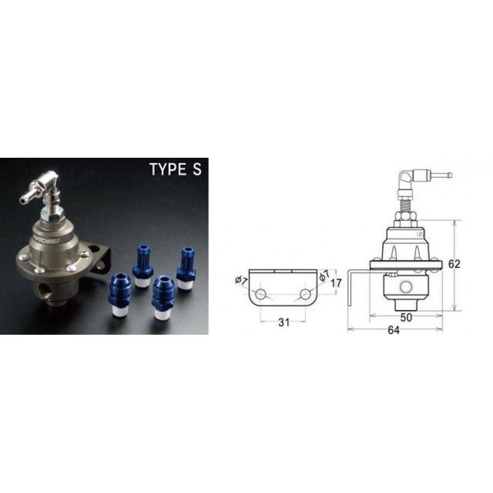 Регулятор давления топлива Tomei Type-S