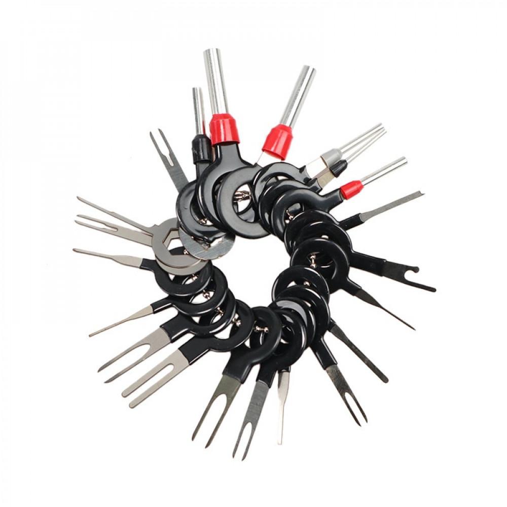 Съемник контактов для автомобильной проводки 26шт.