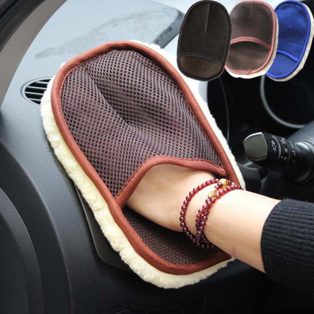 Перчатка салфетка для уборки в автомобиле