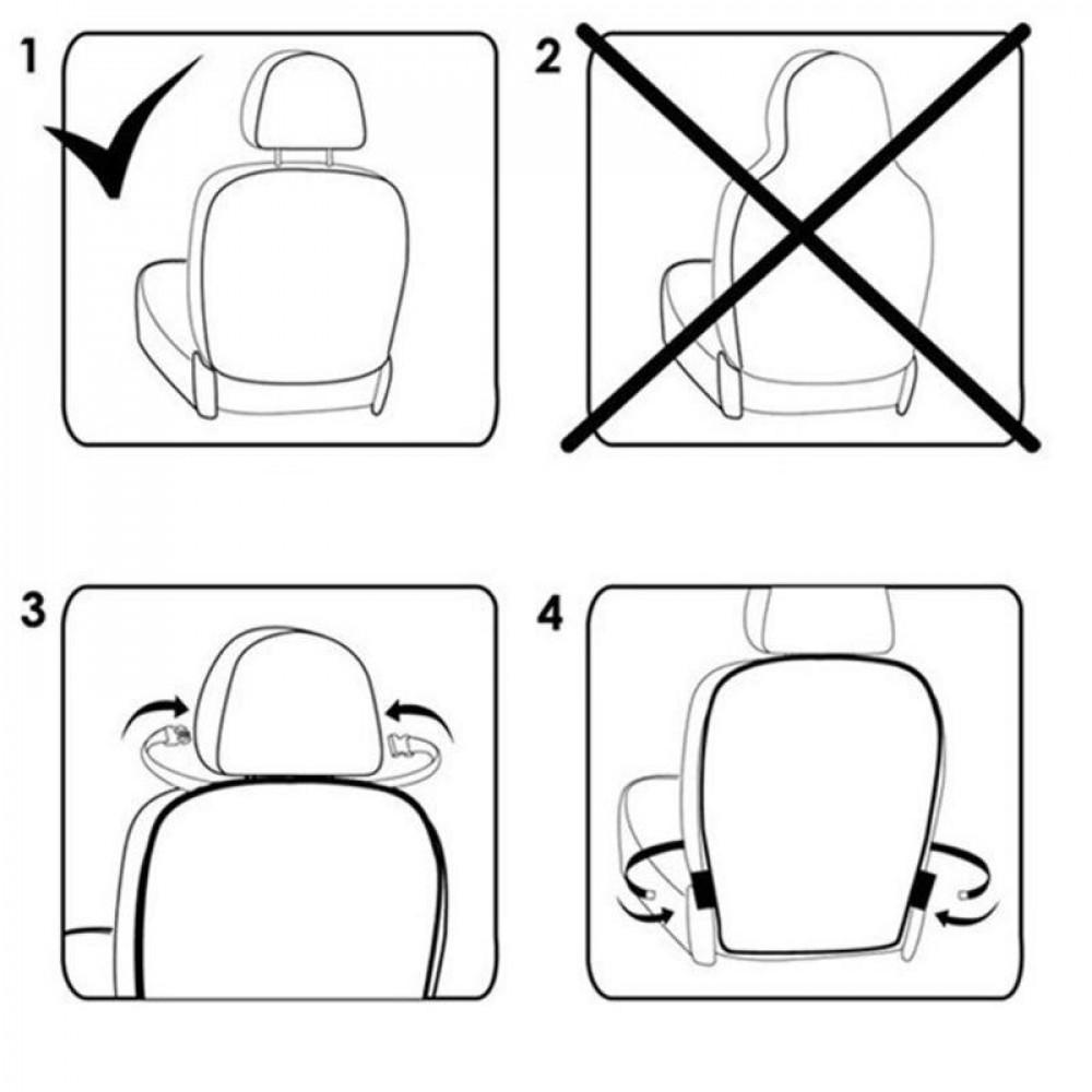 Защита спинки сидения